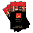 Doutníky Carrillo 4 pack samplers Robusto